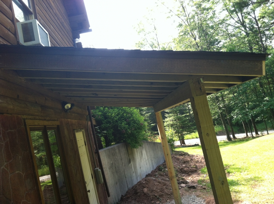 Porch Overhang